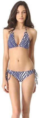Milly Boca Eyelet Bikini Bottoms