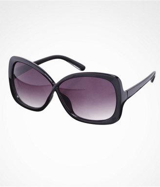 Express Oversized Square Crisscross Sunglasses