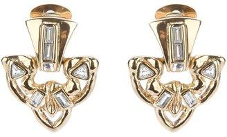 Yves Saint Laurent Vintage encrusted earrings