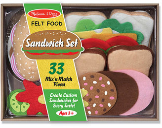 Melissa & Doug Felt Food Kids Toys, Kids Sandwich Set