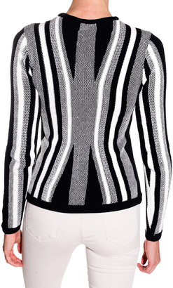 Torn By Ronny Kobo Tai Sweater - Black/White