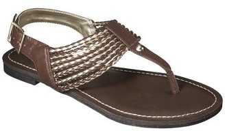 Merona Women's Erin Braided Sandals - Assorted Colors