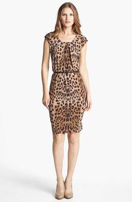 Anne Klein Leopard Print Dress
