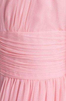 Donna Morgan 'Jessie' Twist Waist Chiffon Dress