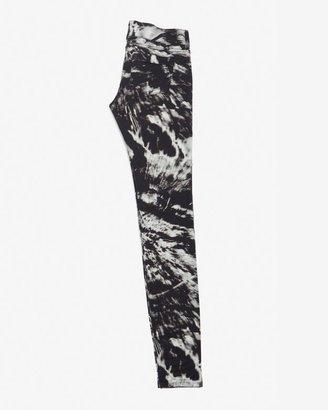 Barbara Bui Patterned Zipper Skinny