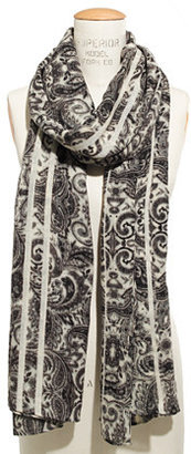 Madewell Paisley Striped Scarf