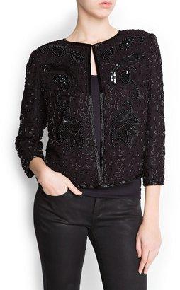 MANGO Beads Jacket