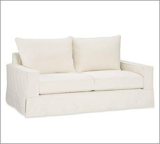 Pottery Barn PB Comfort Square Slipcovered Sofa