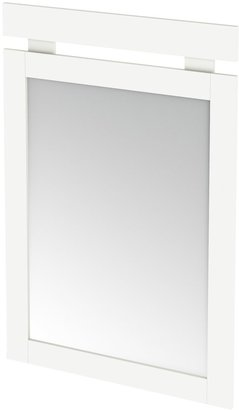 Green Baby South Shore Sparkling Collection Mirror - Pure White