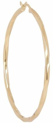 Maria Black Gold-Plated Large Francisca Hoop Earring
