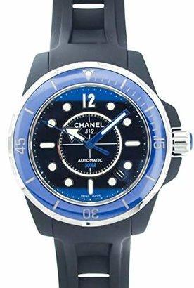 Chanel Men's H2559 J12 Rubber Strap Watch