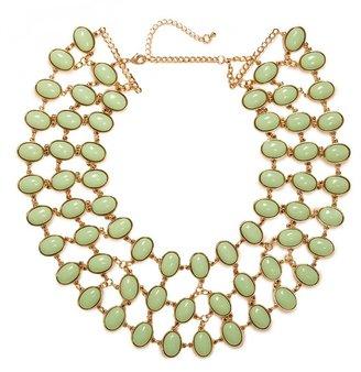 BaubleBar Mint Cabochon Necklace