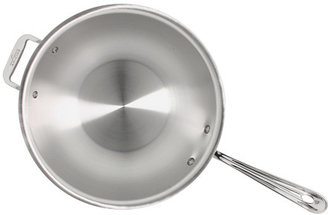 """All-Clad Stainless Steel 12"""" Chef's Pan With Domed Lid"""