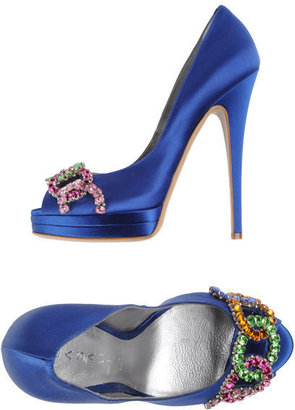 Casadei Pumps with open toe