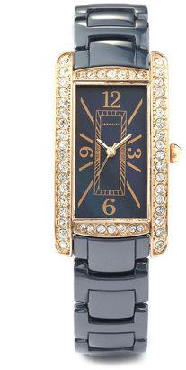 Anne Klein Blue Ceramic Link Watch