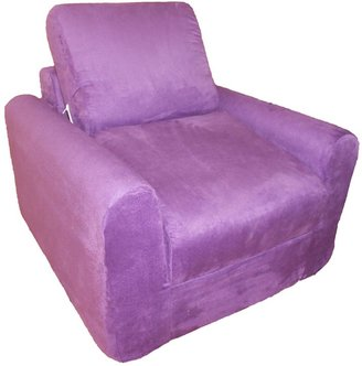 Fun Furnishings Microsuede Sleeper Chair - Kids