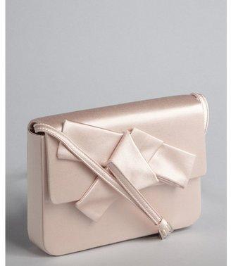 Prada pink satin bow mini shoulder bag
