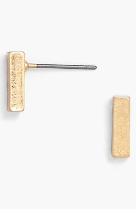 BaubleBar 'Karat' Bar Stud Earrings