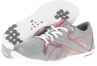 Reebok RealFlex Slim Active (Heather/Flat Grey/Geranium/White) - Footwear
