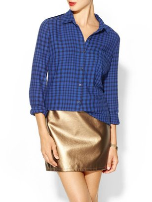 Splendid Gramercy Gingham Shirt