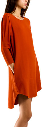 3.1 Phillip Lim Framed Silhouette Dress in Russet