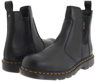 Dr. Martens Fusion NS (Black Industrial Full Grain) - Footwear