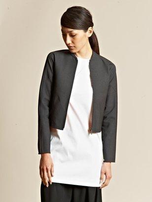 Yang Li Women's Cropped Bomber Jacket