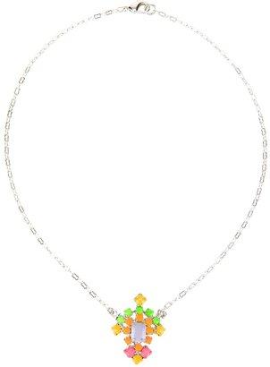 Tom Binns stone embellished necklace