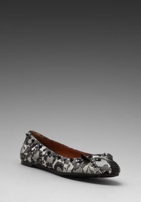 Marc by Marc Jacobs Mouse Lace Ballerina Flat