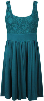 Forever 21 Fab Lace Bust Knit Dress