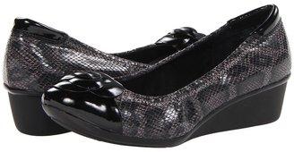 Anne Klein Delice (Pewter Snake) - Footwear