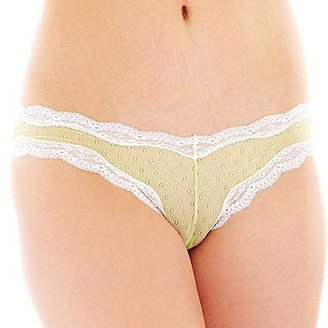 JCPenney Cosmopolitan Embroidered Cheeky Panties