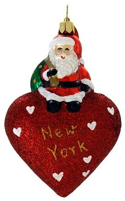 "Bloomingdale's Landmark Creations From Santa With Love: New York Ornament, 3"""