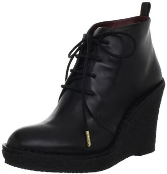 Marc by Marc Jacobs Women's Front Lace Oxford Platform Wedge Bootie
