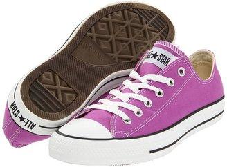 Converse Chuck Taylor All Star Seasonal Ox (Iris Orchid) - Footwear