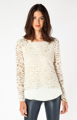 Hale Bob Waverly Lace Top