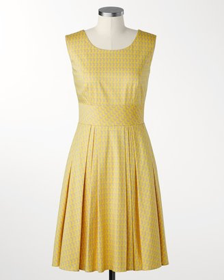 Coldwater Creek Lemon crescent dress