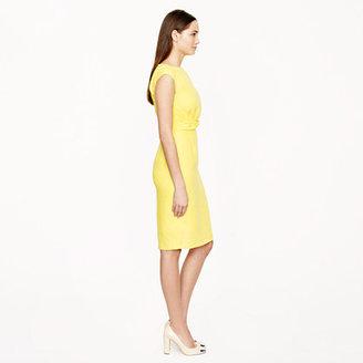 J.Crew Linen twist-front dress