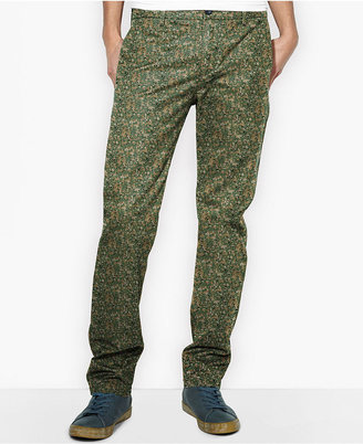 Levi's 513 Slim Straight-Leg Welt Camo Trousers