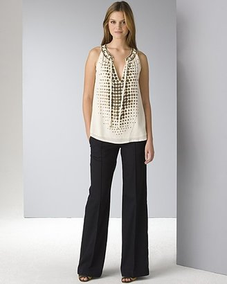 """Nanette Lepore Women's """"Ship Ahoy"""" Top and """"Plymouth"""" Pants"""