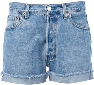 Levi's Levis A.N.G.E.L.O. Recycled Vintage stone washed denim shorts