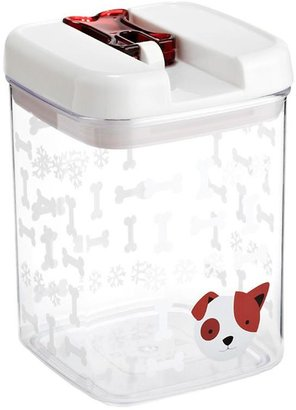Container Store 1.9 qt. Merry Woofmas Canister