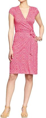 Old Navy Women's Wrap-Front Jersey Dresses