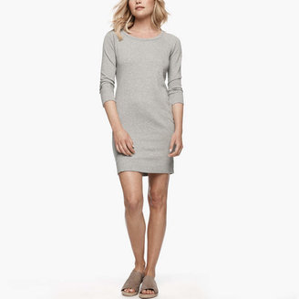 James Perse Vintage Fleece Sweatshirt Dress