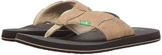 Sanuk Fault Line (Brown) Men's Sandals