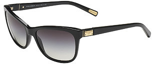Dolce & Gabbana Square Frame Sunglasses - Black