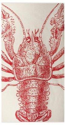 Thomas Paul Lobster Gauze Scarf