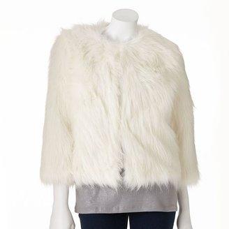 JLO by Jennifer Lopez faux-fur jacket - women's