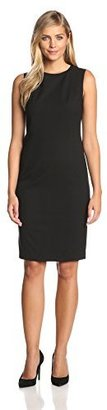 Jones New York Women's Mallory Sleeveless Sheath Dress $119 thestylecure.com