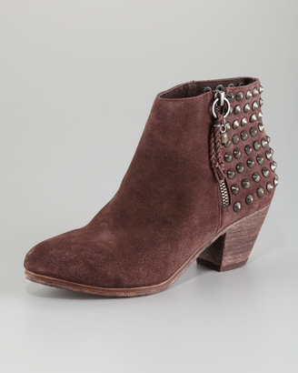 Ash Nevado Studded Ankle Boot